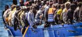 Simbolo sbarco migranti
