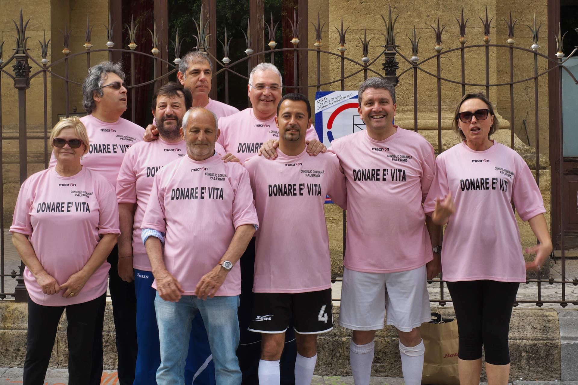 La squadra del Consiglio comunale