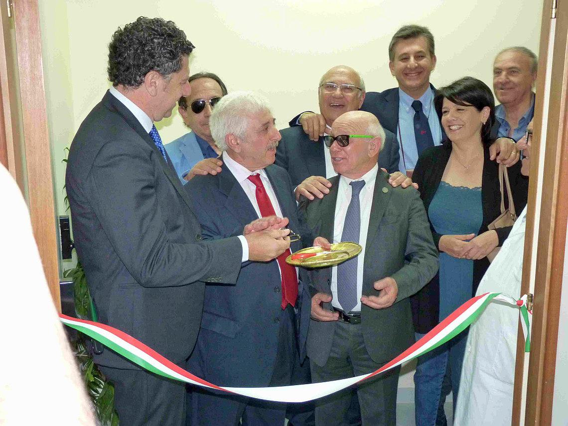 Inaugurazione Radiologia al Poliambulatorio di Favara