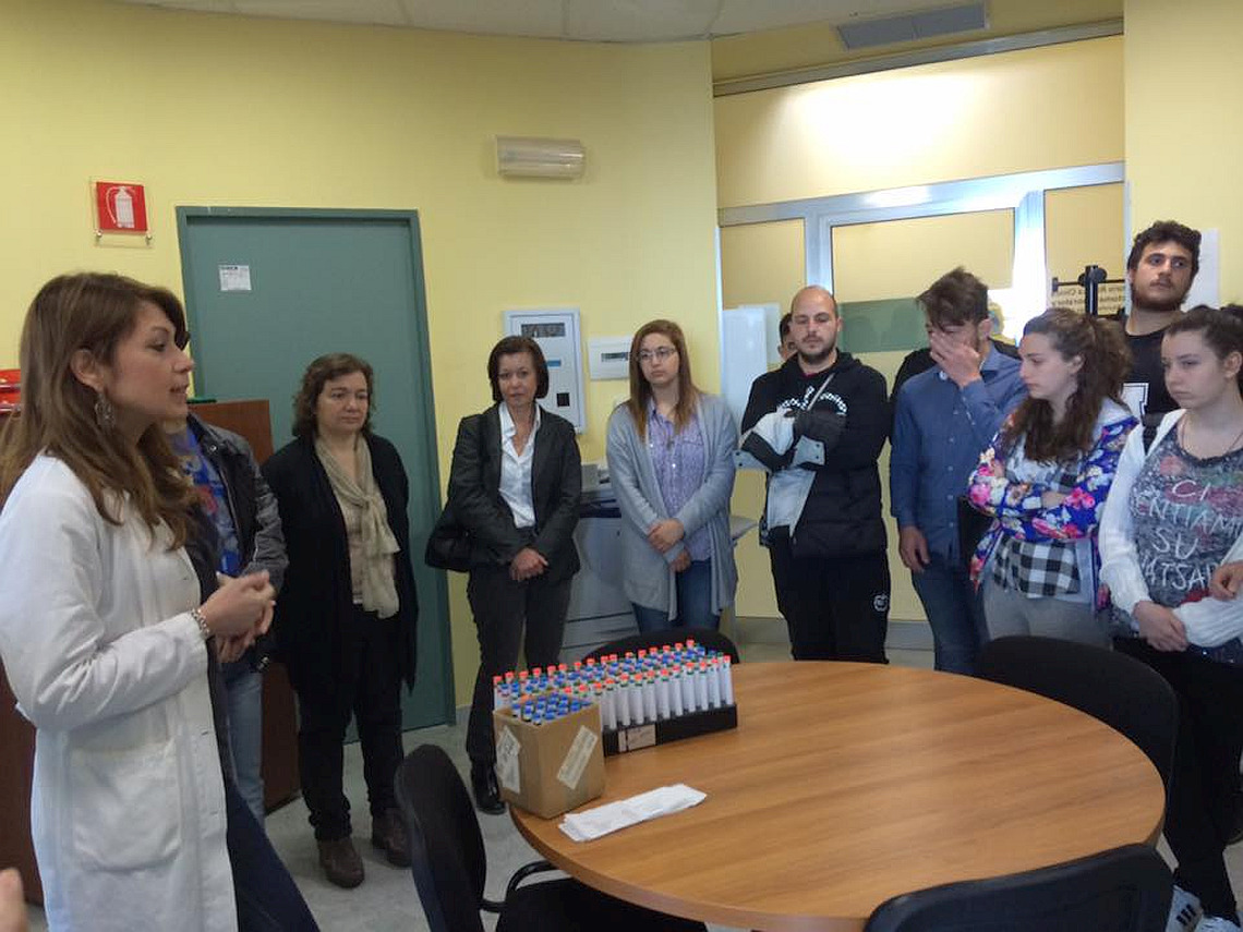 Studenti dell'Antonello in visita al Bonino Pulejo