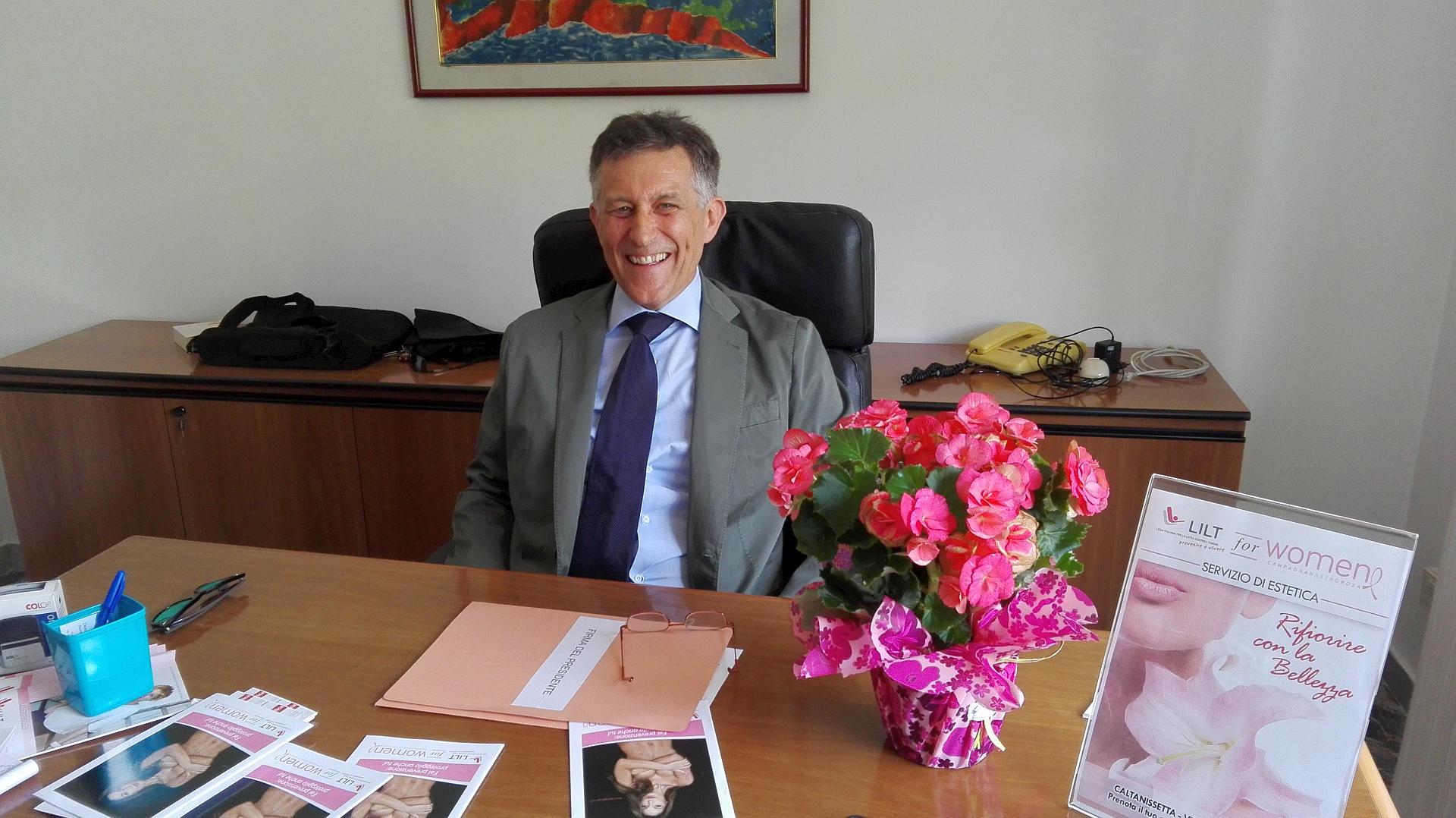 Aldo Amico, presidente Lilt Caltanissetta