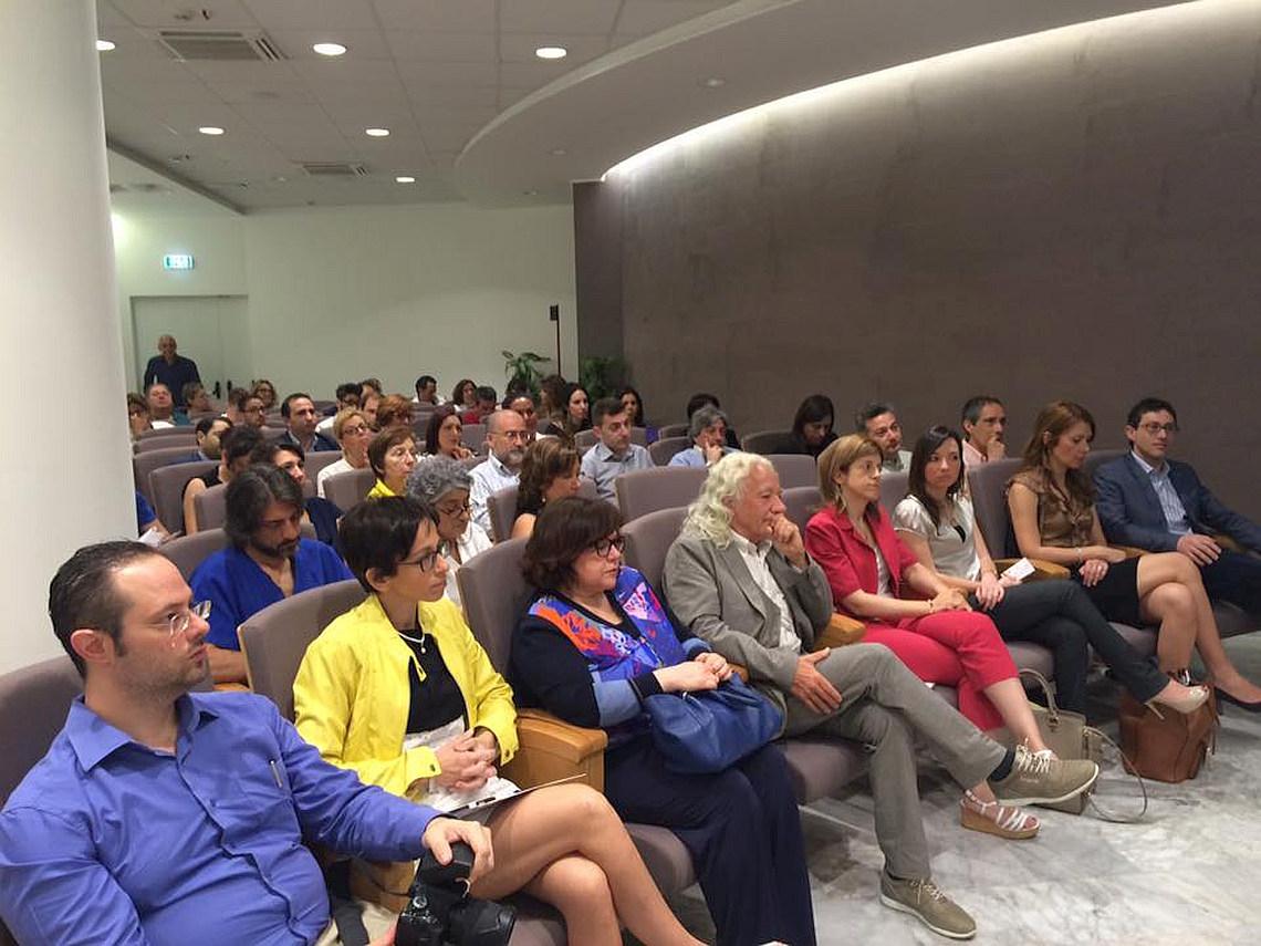 Il pubblico presente al Convegno