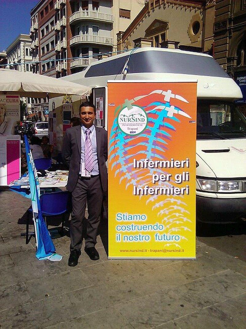 Francesco Frittitta, coordinatore regionale di Nursind Sicilia