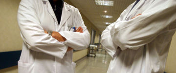 Simbolo protesta medici