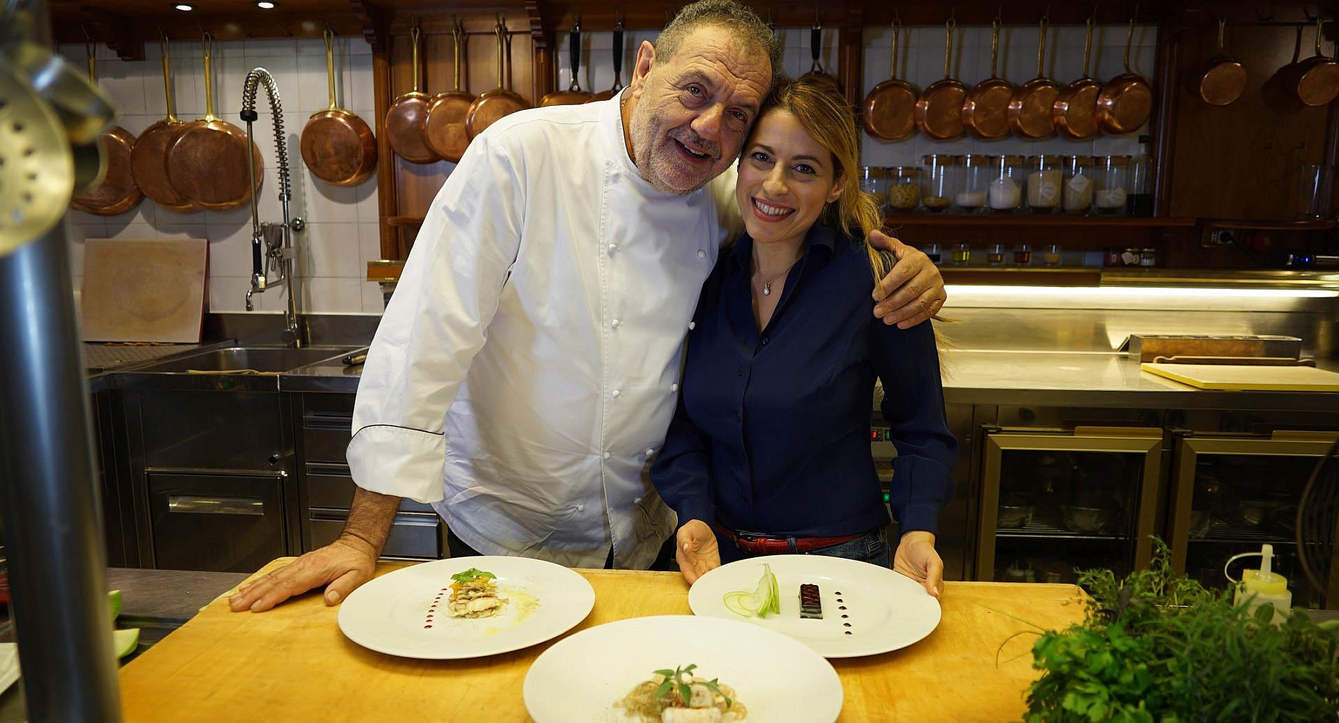 Gianfranco Vissani e Serena Missori