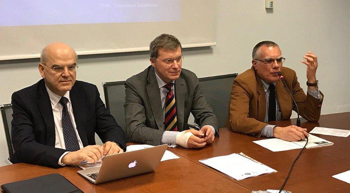 Tindaro Iraci, Filippo Boniforti e Lorenzo Lupo
