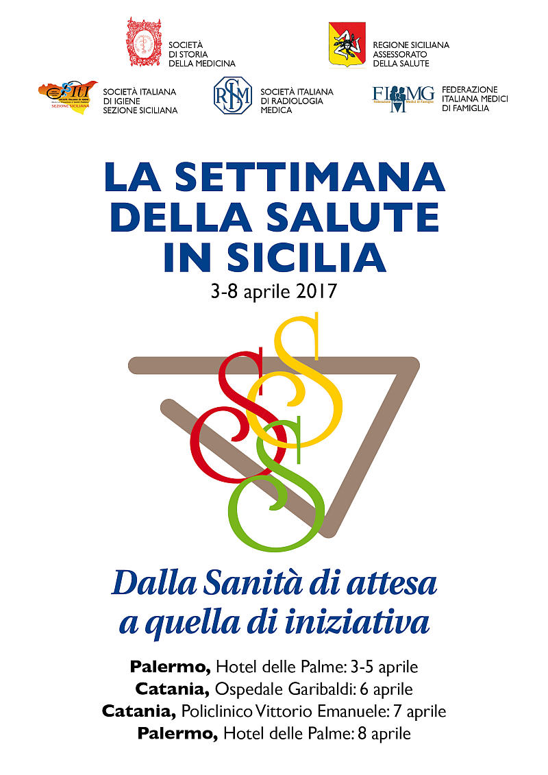 Locandina Settimana Salute Sicilia 2017
