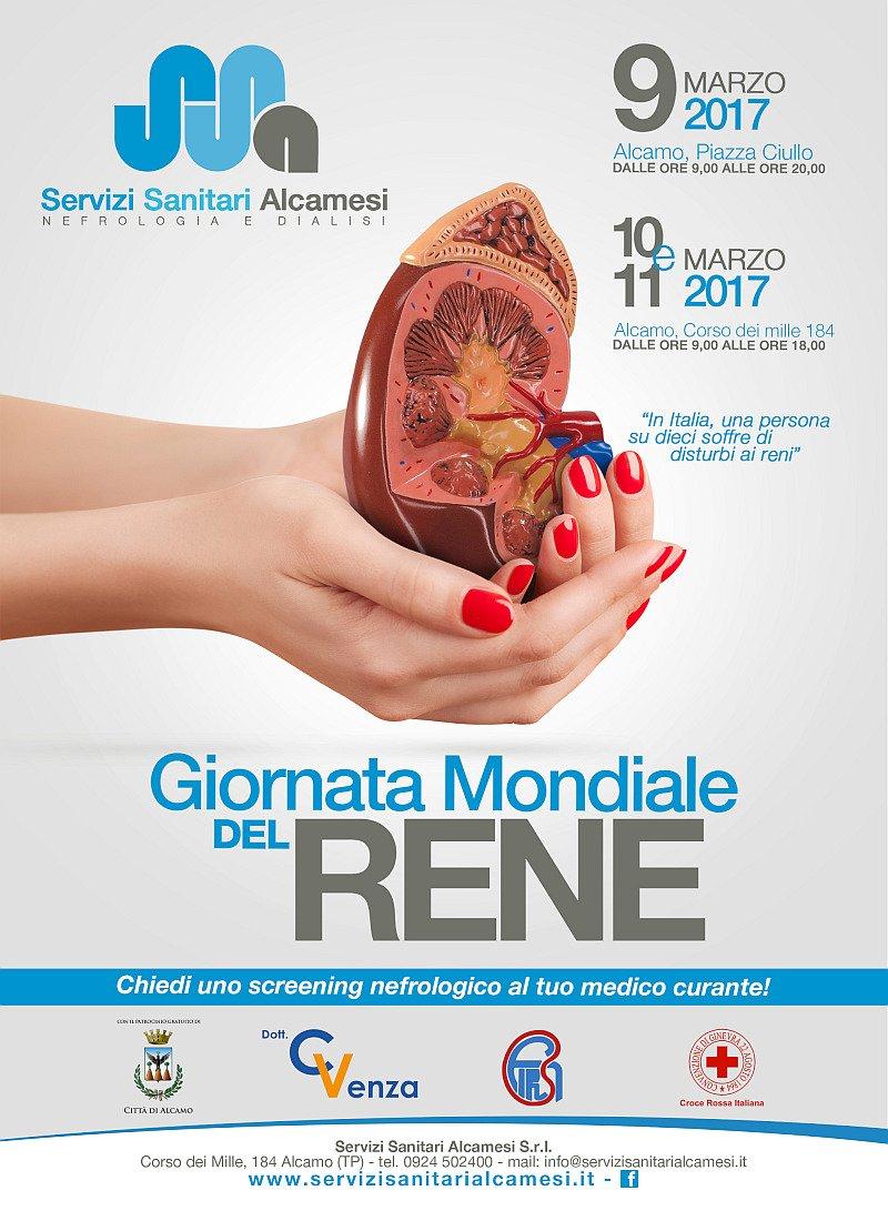 Servizi Sanitari Alcamesi. Giornata mondiale del Rene 2017
