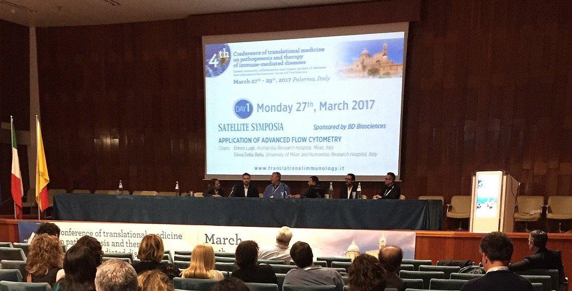 Un momento della Conferenza internazionale