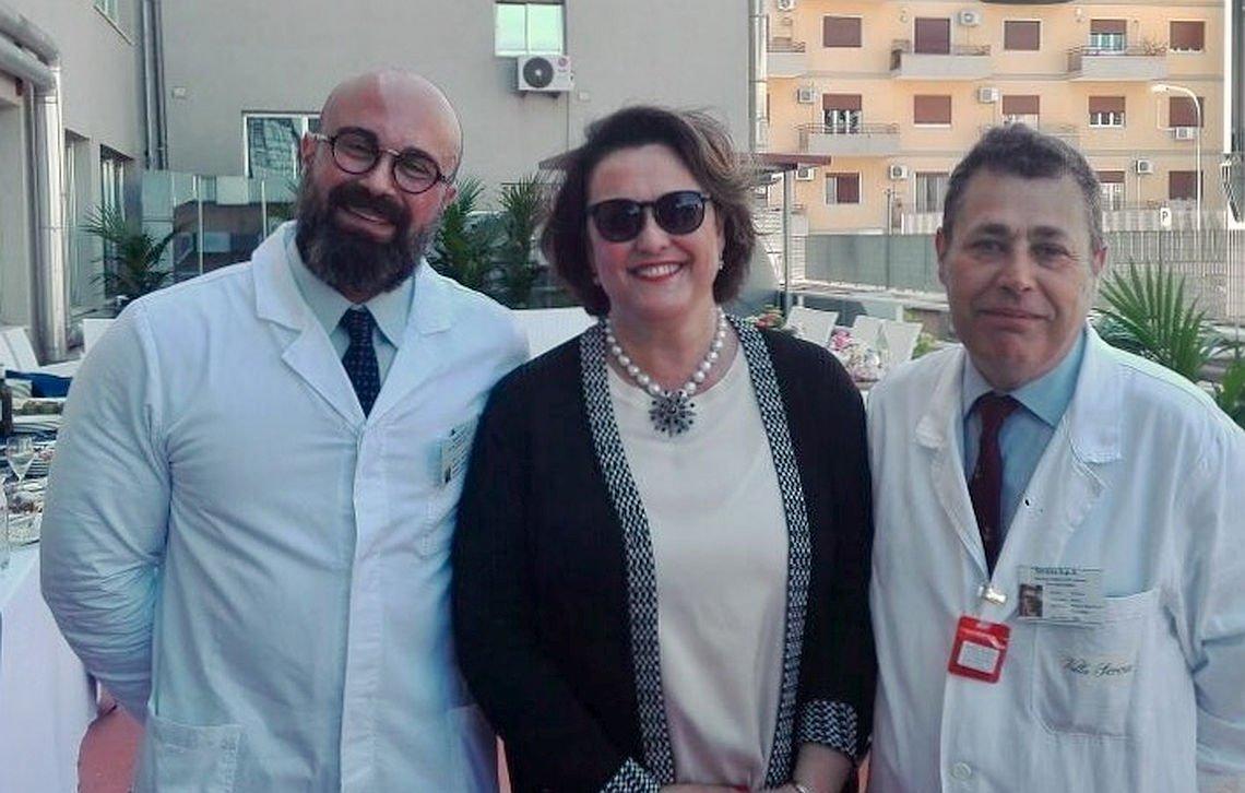 Giovanni Muscolino, Adele Panciera e Corrado Reina
