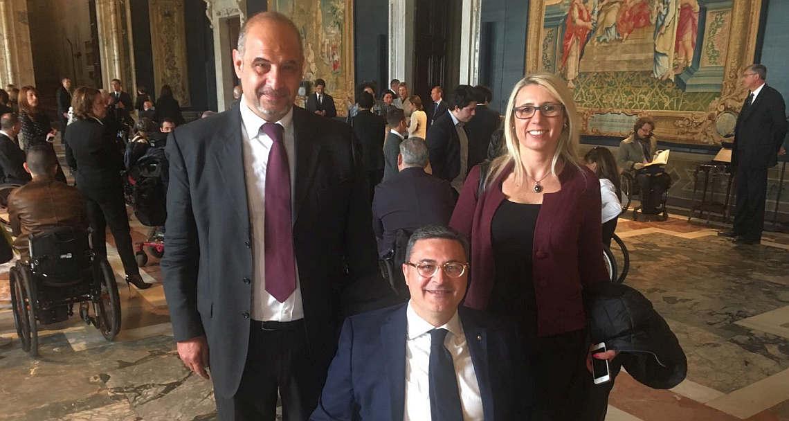 Partita della vita. Antonio Iacono, Vincenzo Falabella e Marzia Livreri