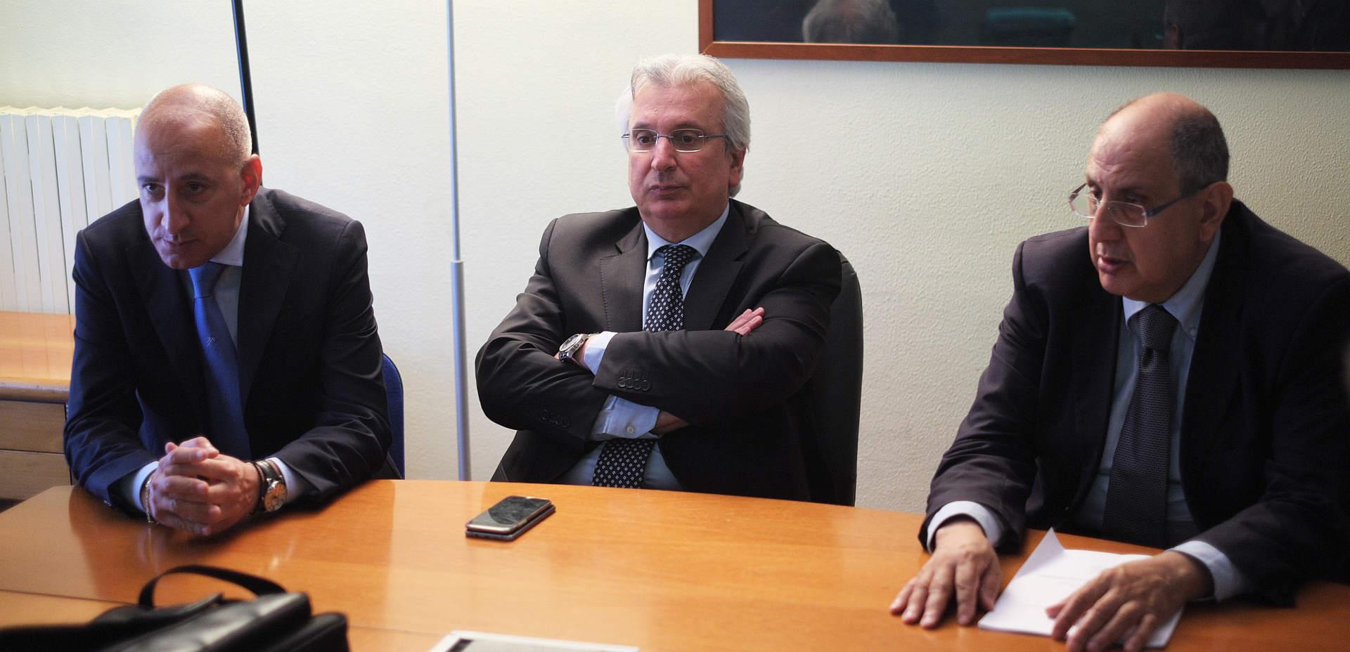 Fabio Genco, Baldo Gucciardi e Sebastiano Lio