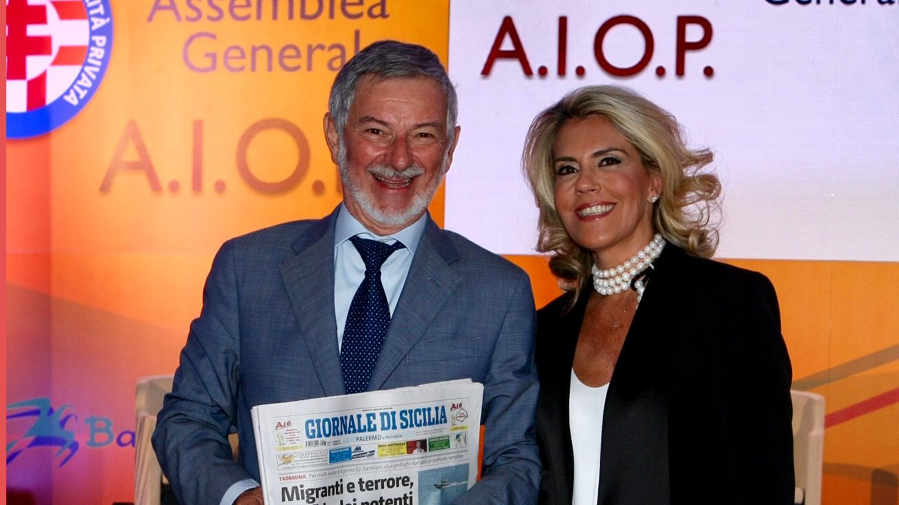 Gabriele Pelissero e Barbara Cittadini