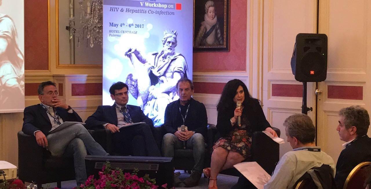 A destra, la moderatrice Maria Grazia Elfio, giornalista di Insanitas