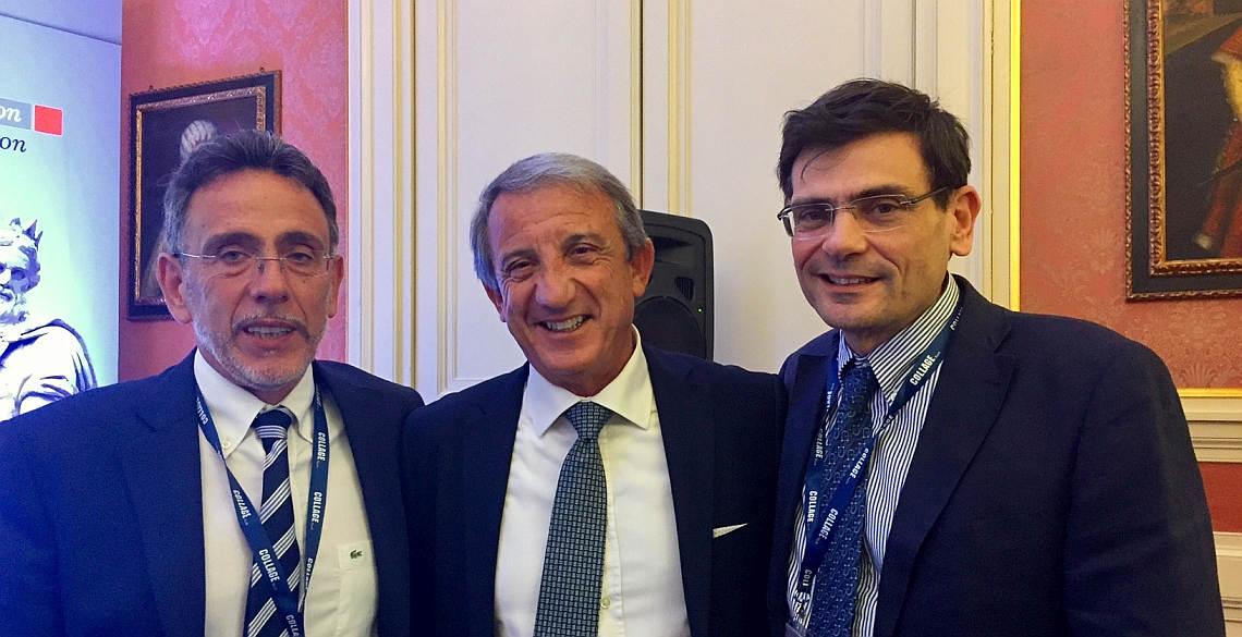 Pietro Colletti, Fabrizio De Nicola ed Antonio Cascio