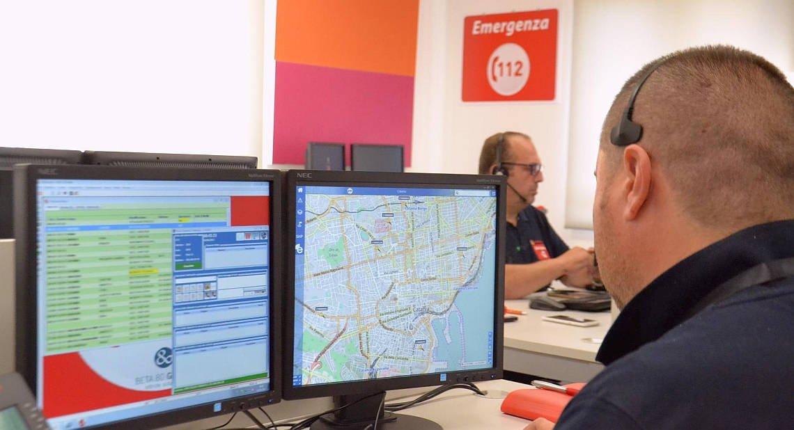 Centrale operativa 112 Catania.2
