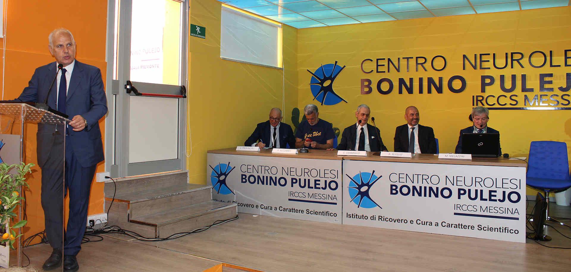 Congresso Sin Società italiana di neurologia Sicilia 2017