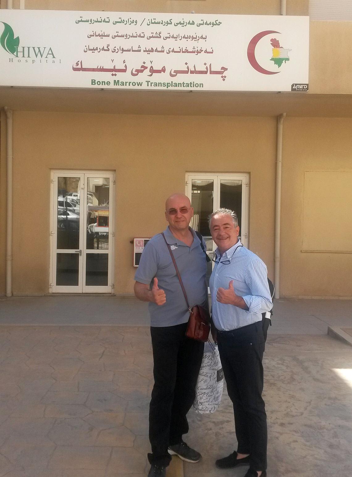 Salvatore Carollo ed Eugenio Guerriero in Iraq