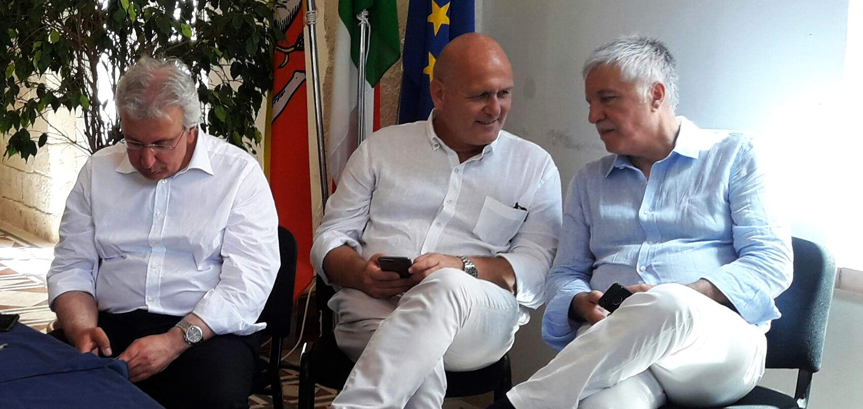 Baldo Gucciardi, Giovanni Migliore e Giovanni Bavetta