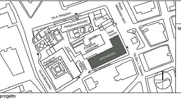 Parcheggio multipiano ospedale dei Bambini di Palermo.3