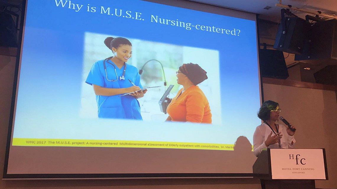 Progetto siciliano su ricerca infermieristica presentato a Singapore.2