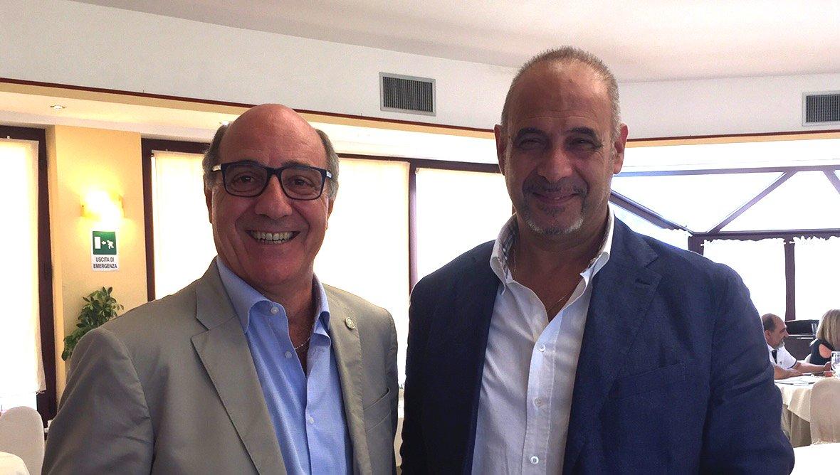 Giuseppe Riccardo Spampinato ed Antonio Iacono