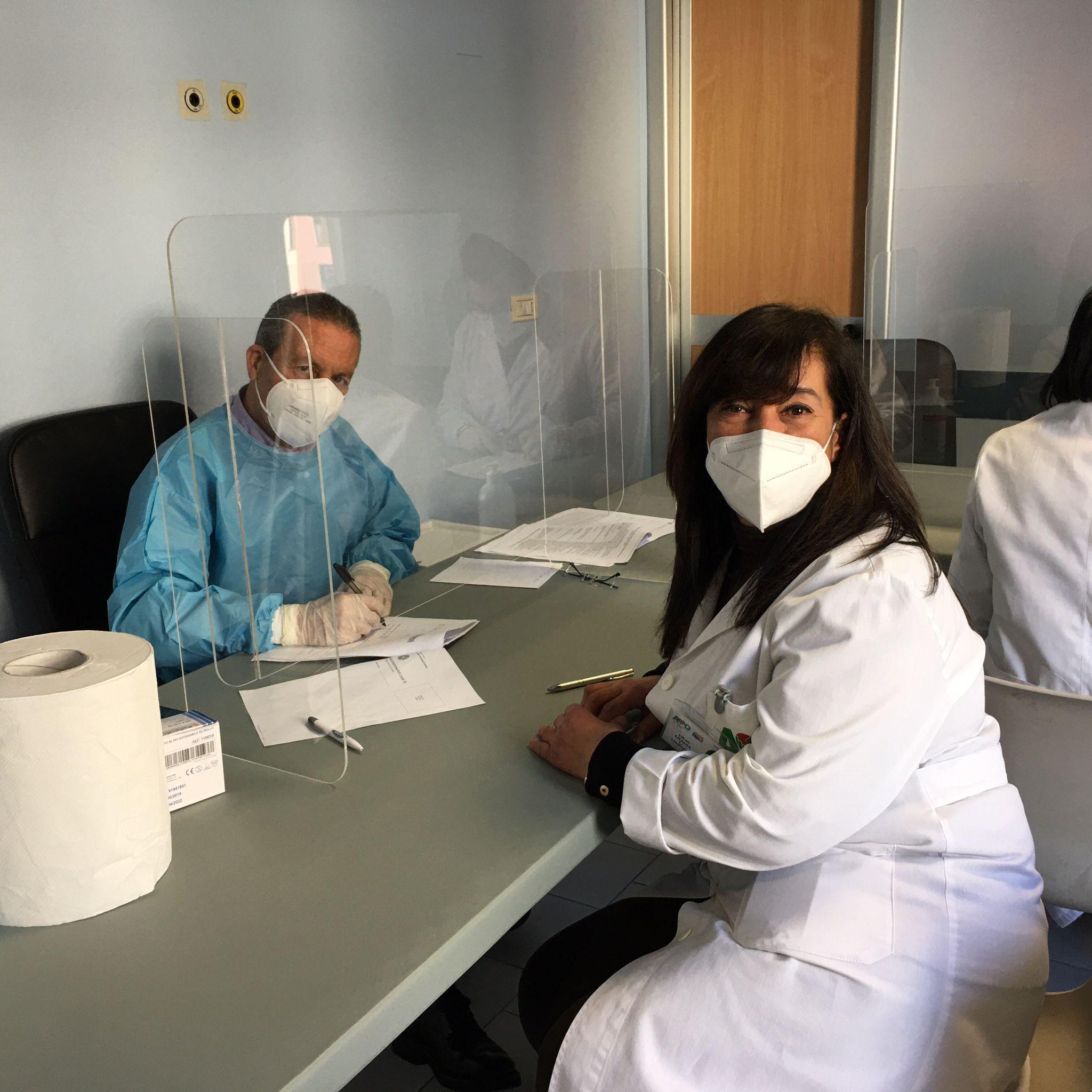 Coronavirus Al Via L Hub Vaccinale Di Ragusa Nell Ex Ospedale Civile
