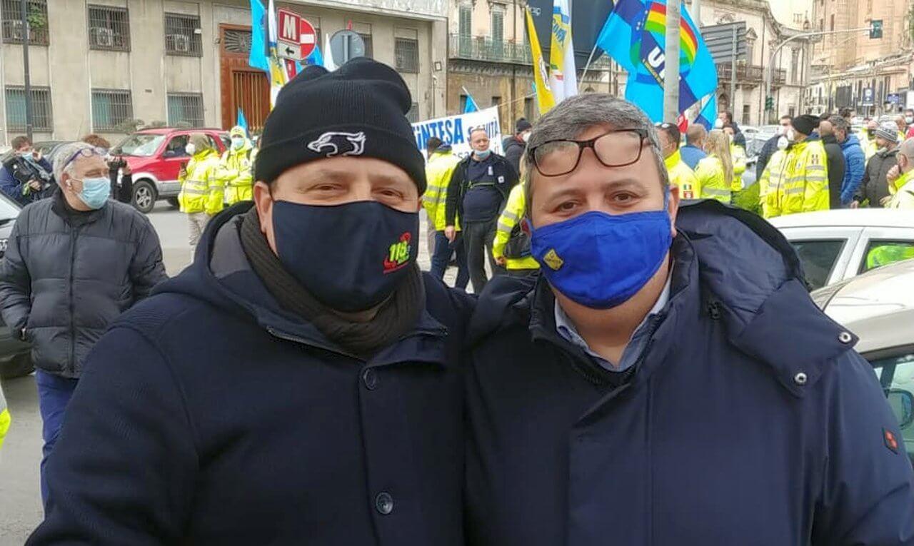 Mario Manzo e Domenico Amato