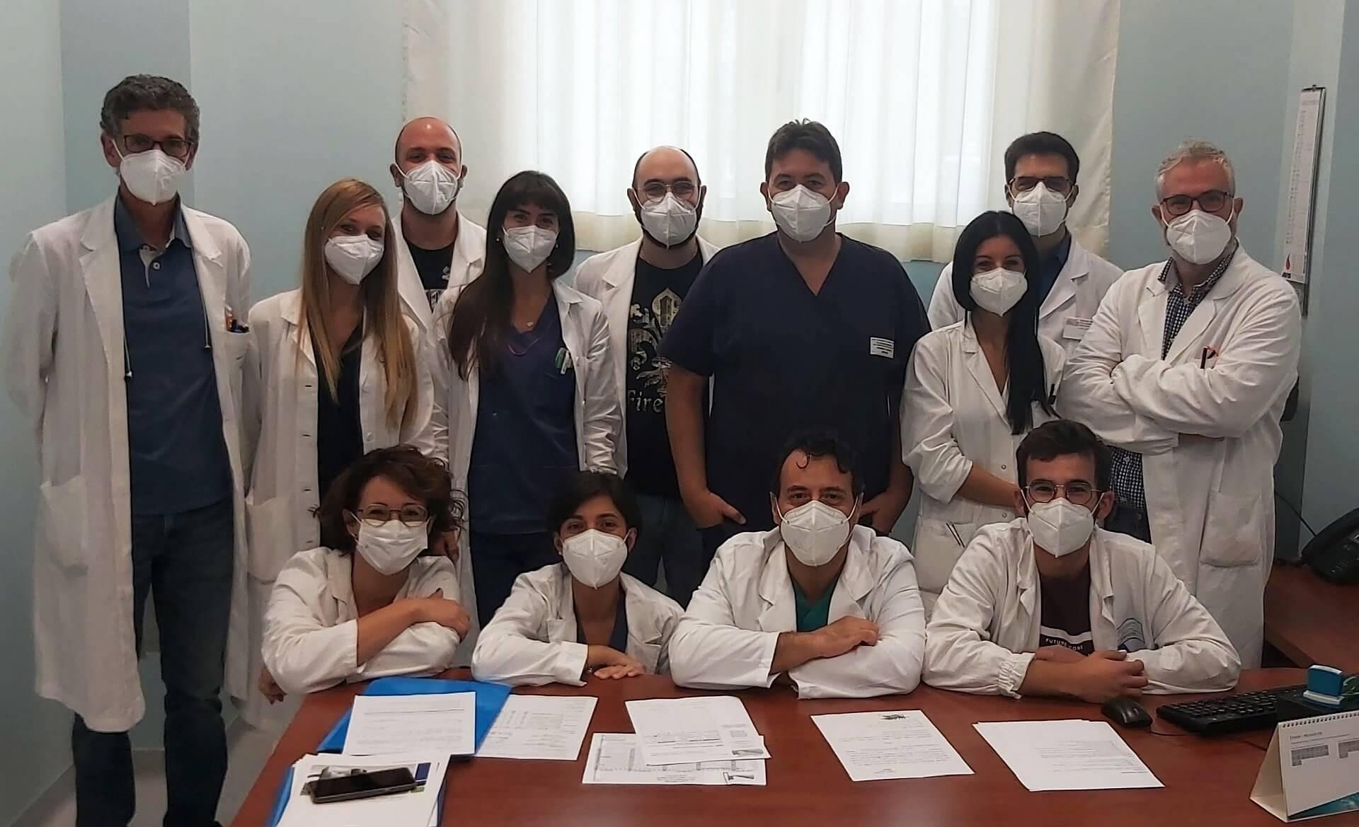Il team del laboratorio